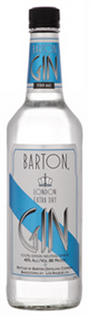 Barton Gin London Dry 750ml - Case of 12